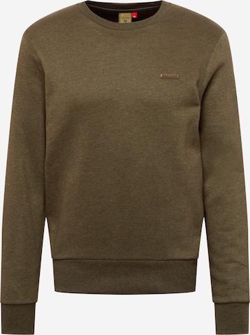 Ragwear Sweatshirt 'INDIE' in Green