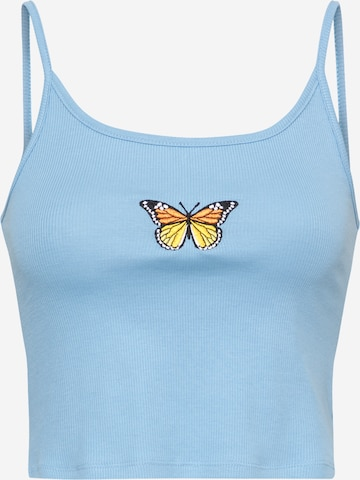 ABOUT YOU Top 'Lea' in Blauw