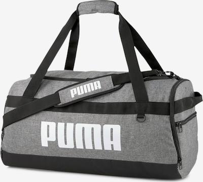 PUMA Sporttas in de kleur Lichtgrijs / Zwart, Productweergave