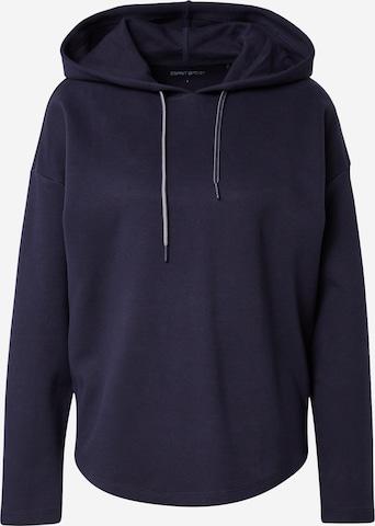 ESPRIT SPORT Athletic Sweatshirt in Blue