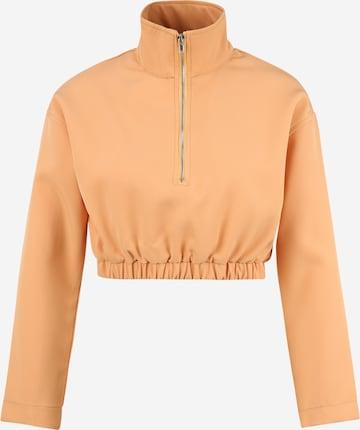 Missguided Petite Sweatshirt in Orange
