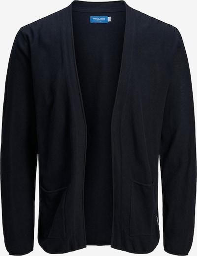 JACK & JONES Strickjacke in schwarz, Produktansicht
