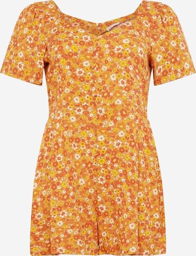 Cotton On Curve Jumpsuit 'Fiona' in gelb / honig / orange / weiß, Produktansicht