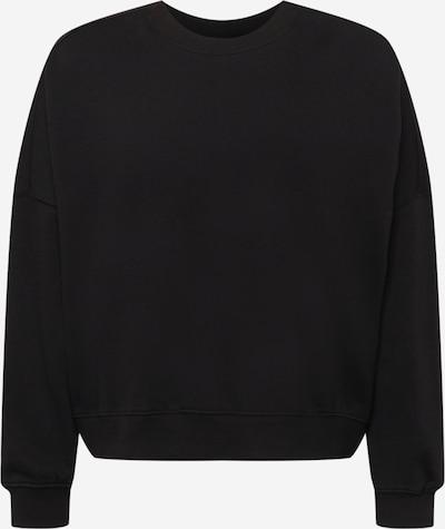 Bluză de molton Cotton On Curve pe negru, Vizualizare produs