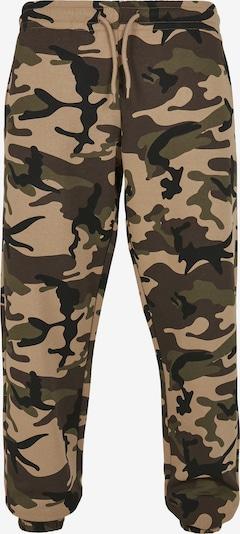 Urban Classics Pantalon en beige / taupe / kaki / noir, Vue avec produit