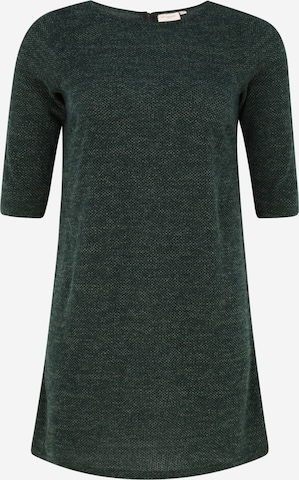 ONLY Carmakoma Knitted dress 'Martha' in Green
