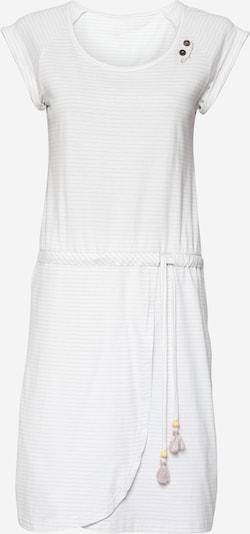 Ragwear Kleid in greige / weiß, Produktansicht