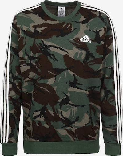 ADIDAS PERFORMANCE Sweatshirt in grün / schwarz / weiß, Produktansicht