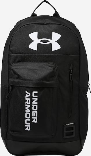 UNDER ARMOUR Športni nahrbtnik 'Halftime' | črna / bela barva, Prikaz izdelka