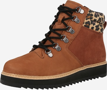 TOMS Stiefelette 'MOJAVE' in Braun