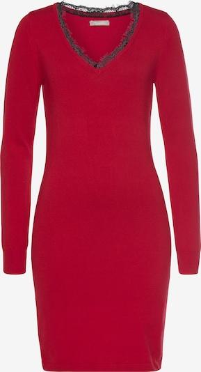 TAMARIS Strickkleid in rot, Produktansicht