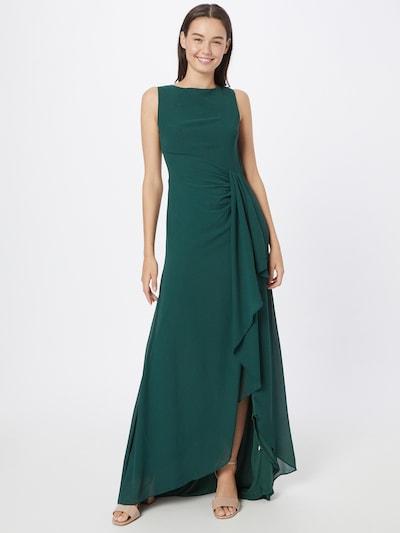 Rochie de seară TFNC pe verde smarald, Vizualizare model