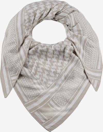 Zwillingsherz Masque en tissu 'Liv' en beige / gris clair, Vue avec produit