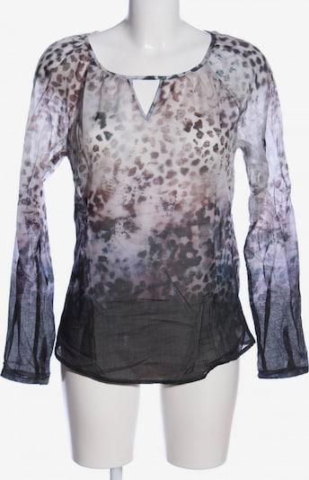 Emily Langarm-Bluse in M in braun / schwarz / weiß, Produktansicht