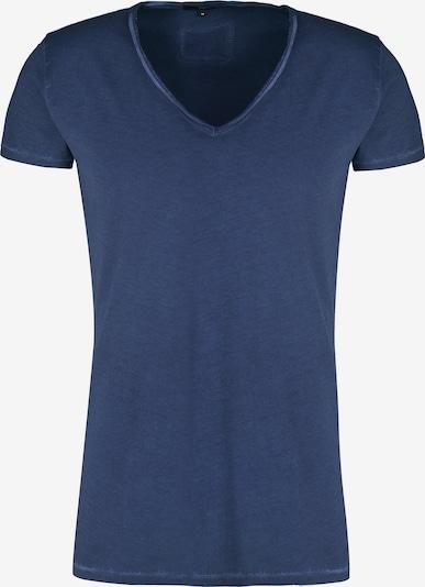 tigha T-Shirt 'Maik' en bleu / blanc: Vue de face