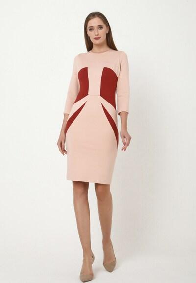 Madam-T Kleid 'AMINA' in rot, Modelansicht
