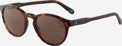POLO RALPH LAUREN Sonnenbrille '0PH4172' in braun / cognac / dunkelbraun / jade, Produktansicht