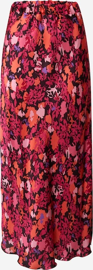 FRNCH PARIS Rok in de kleur Lichtlila / Lichtoranje / Pink / Rosa / Zwart, Productweergave