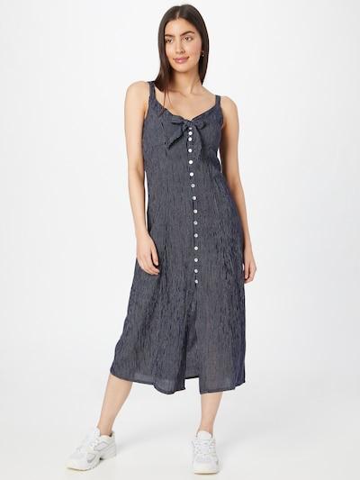 LTB Letní šaty 'RIGABA' - tmavě modrá / bílá, Model/ka