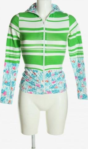 Blutsschwester Sweatshirt & Zip-Up Hoodie in S in Green