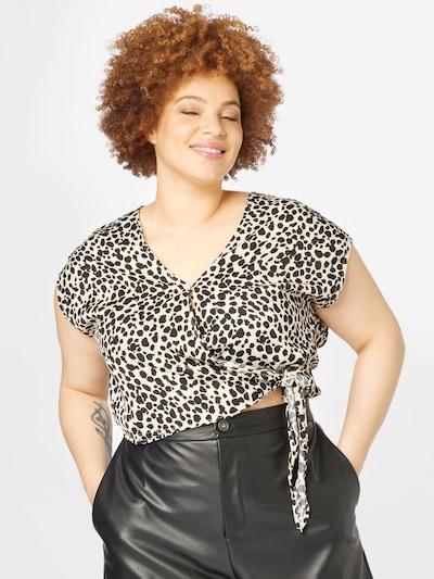 ABOUT YOU Curvy Blouse 'Jane' in de kleur Beige, Modelweergave
