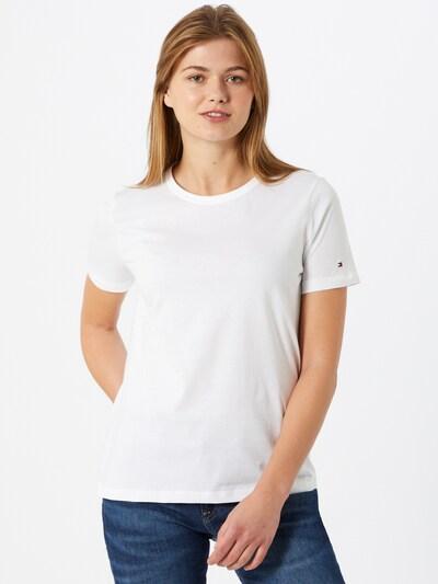 TOMMY HILFIGER Shirt in weiß, Modelansicht