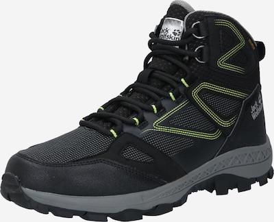 JACK WOLFSKIN Boots 'Downhill Texapore Mid M' in de kleur Groen / Zwart, Productweergave