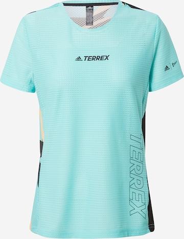 adidas Terrex T-Shirt 'Parley Agravic TR Pro' in Grün