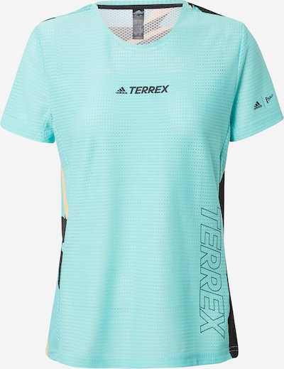 adidas Terrex Performance Shirt 'Parley Agravic TR Pro' in Turquoise / Mixed colors, Item view