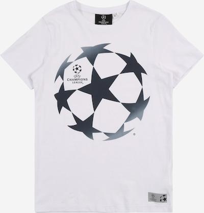 NAME IT T-Shirt 'UEFA' in nachtblau / weiß, Produktansicht