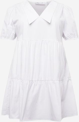 NU-IN Plus Μπλουζοφόρεμα σε λευκό