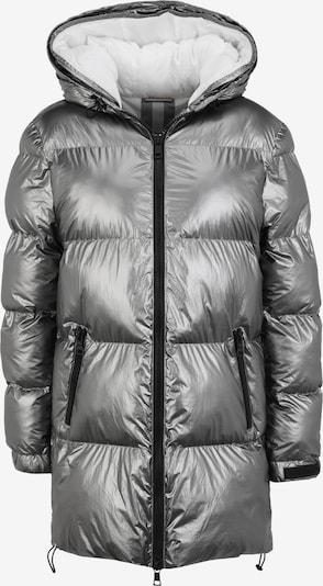No. 1 Como Winter Coat 'OTTAVIA' in Silver, Item view
