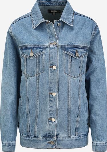 Missguided (Tall) Veste mi-saison en bleu denim, Vue avec produit