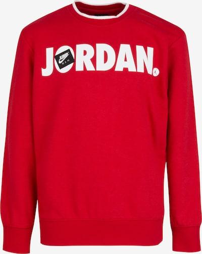 Jordan Sweatshirt in feuerrot / schwarz / weiß, Produktansicht