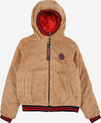 STACCATO Jacke in hellbraun / rot / schwarz, Produktansicht