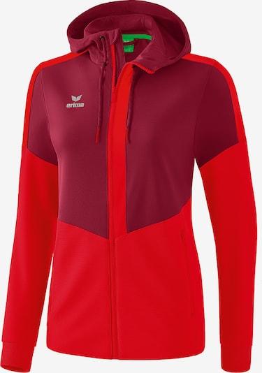 ERIMA Jacke in rot / bordeaux, Produktansicht