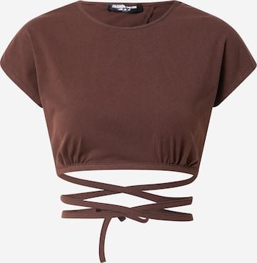 Fashion Union Shirt 'FRANKLIN' in Bruin