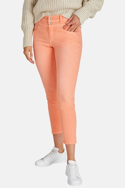 Angels Jeans 'Ornella Button' in orange, Modelansicht