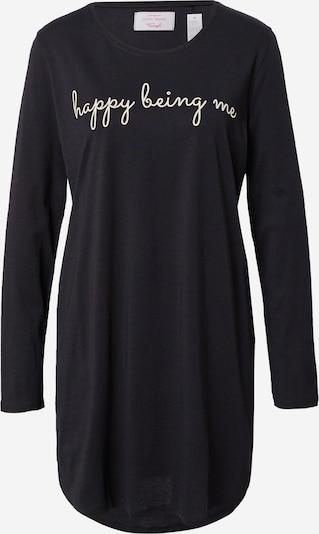 TRIUMPH Camiseta de noche en negro / blanco, Vista del producto