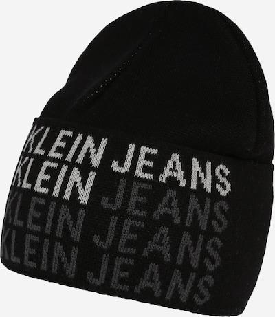 Calvin Klein Jeans Bonnet 'BEANIE' en noir, Vue avec produit