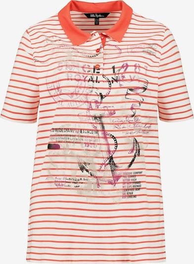 Ulla Popken Shirt '727367' in creme / orange, Produktansicht