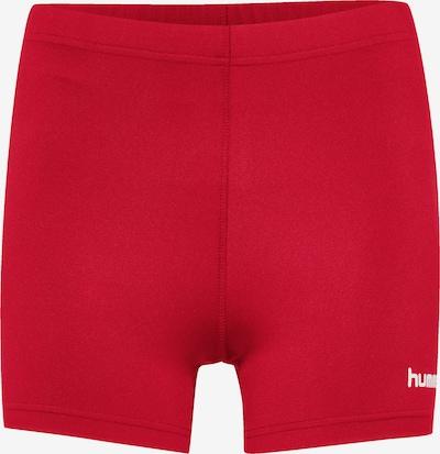 Hummel Sportbroek in de kleur Vuurrood / Wit, Productweergave