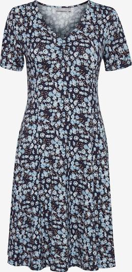 Fransa Kurzes Kleid mit Allover Print in blau, Produktansicht