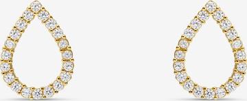 MOSUO JEWELLERY Kõrvarõngas 'Teardrop', värv Kuld