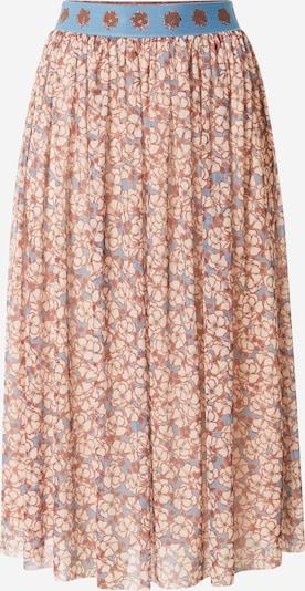Rich & Royal Skirt in Beige / Smoke blue / Brown, Item view