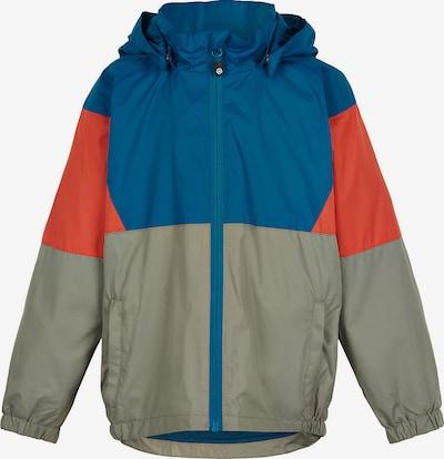 COLOR KIDS Outdoorjacke in blau / grau / orange, Produktansicht
