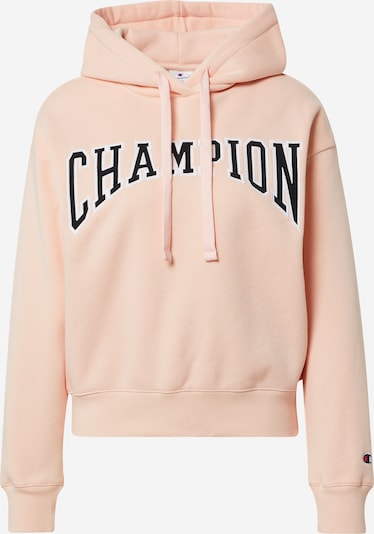 Champion Authentic Athletic Apparel Sweat-shirt en rose / noir / blanc, Vue avec produit