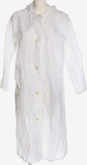 UNBEKANNT Regenmantel in M in weiß, Produktansicht