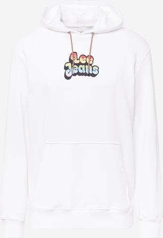 Lee Sweatshirt in Weiß