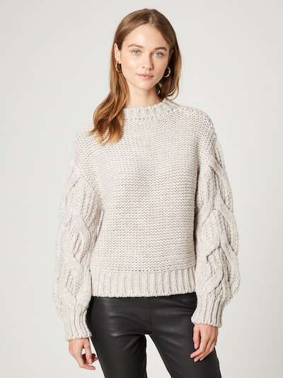 Guido Maria Kretschmer Collection Sweater 'Marthe' in Beige, View model